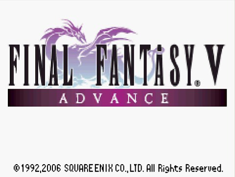 Final Fantasy 5 Advance